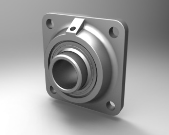 4 Hole Flange Bearing